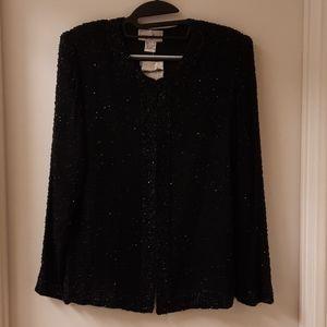 Vintage Laurence Kazar New York Beaded Jacket